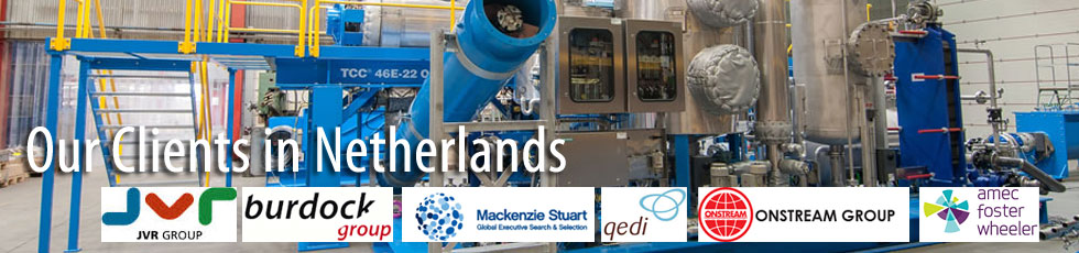 Our Flanges Clients in Netherlands