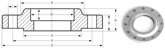 Socket weld flange manufacturer in india