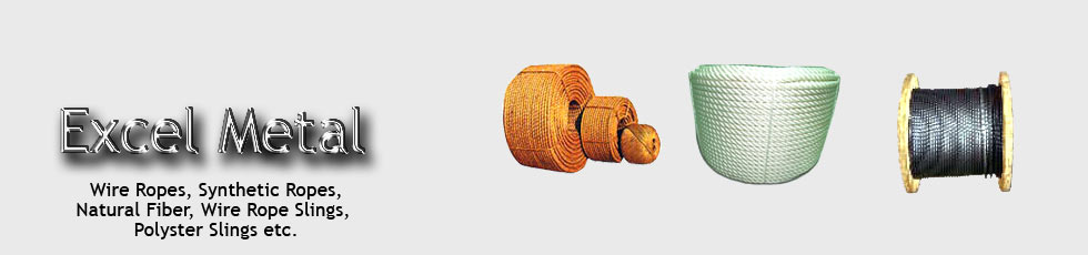 manufacture and market Wire Ropes, Synthetic Ropes etc