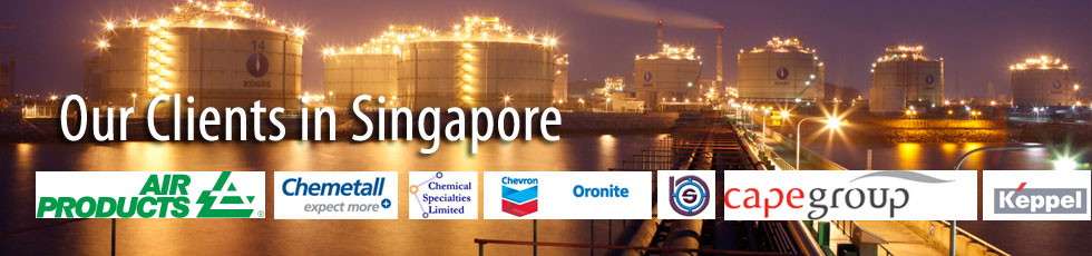 Our Flanges Fittings Clients in Singapore