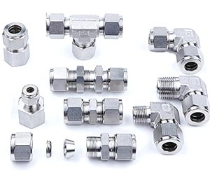 316 Stainless Steel Compression Tube Fittings