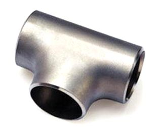 ASME B16.9 Carbon Steel Reducing Tee Manufacturer in India