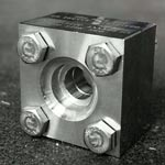 ASME B16.5 Class 300 slip on square flange