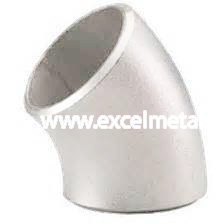 A403 WP316L Stainless Steel 45 Degree Short Radius Elbow