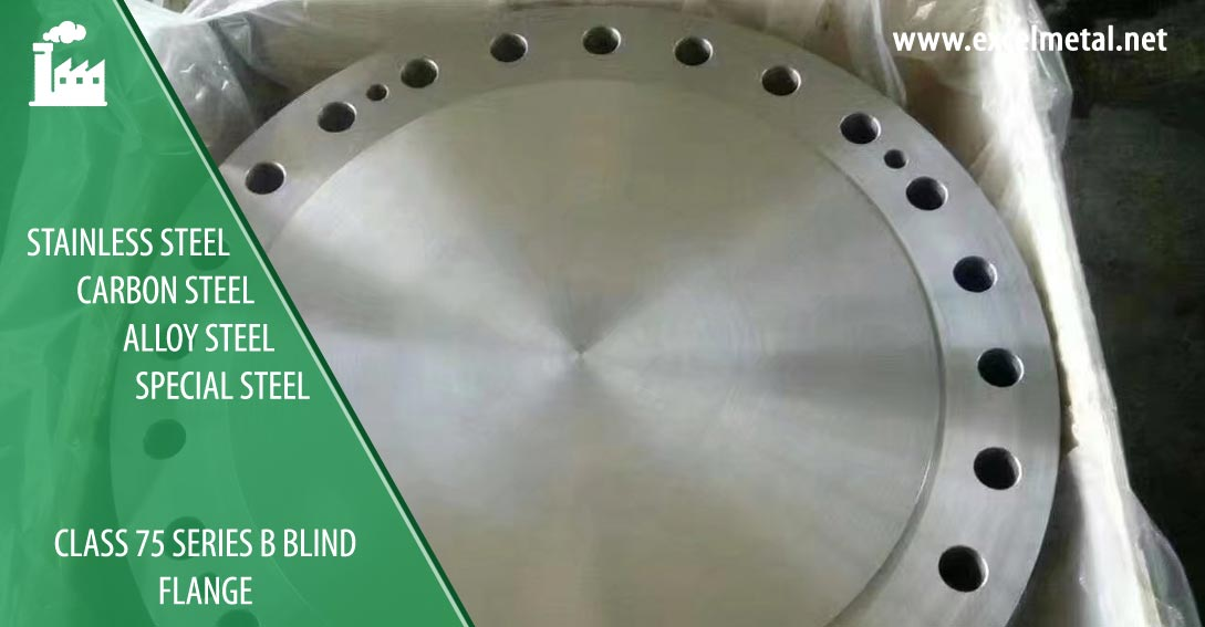 ASME B16.47 Class 75 Series B Blind flange Suppliers in India
