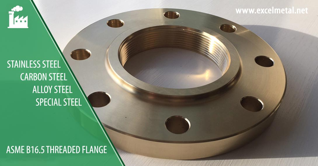 ASME B16.5 Threaded Flanges Suppliers in India