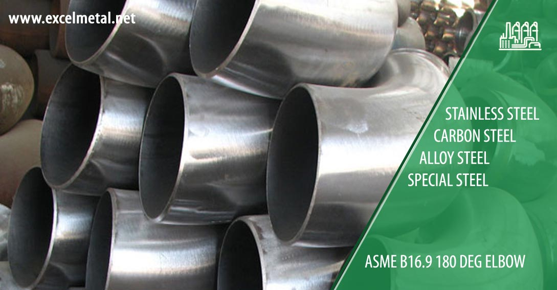 ASME B16.9 180 Deg Elbow Suppliers in India