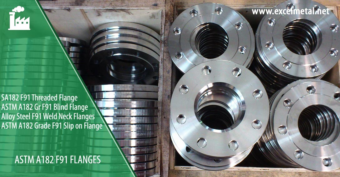 ASTM A182 F91 Flanges Suppliers in India