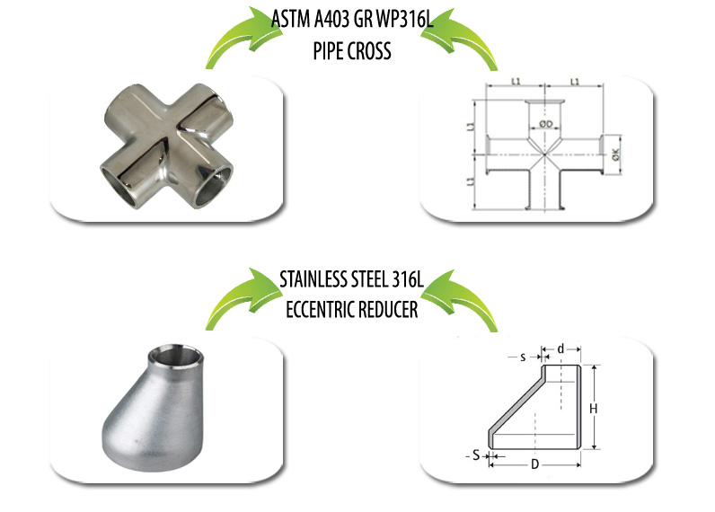 ASTM A403 WP316L Pipe Fittings Suppliers in India