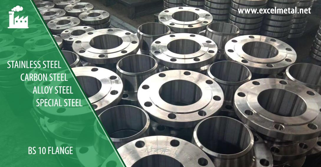 Carbon Steel BS 10 Flange Suppliers in India