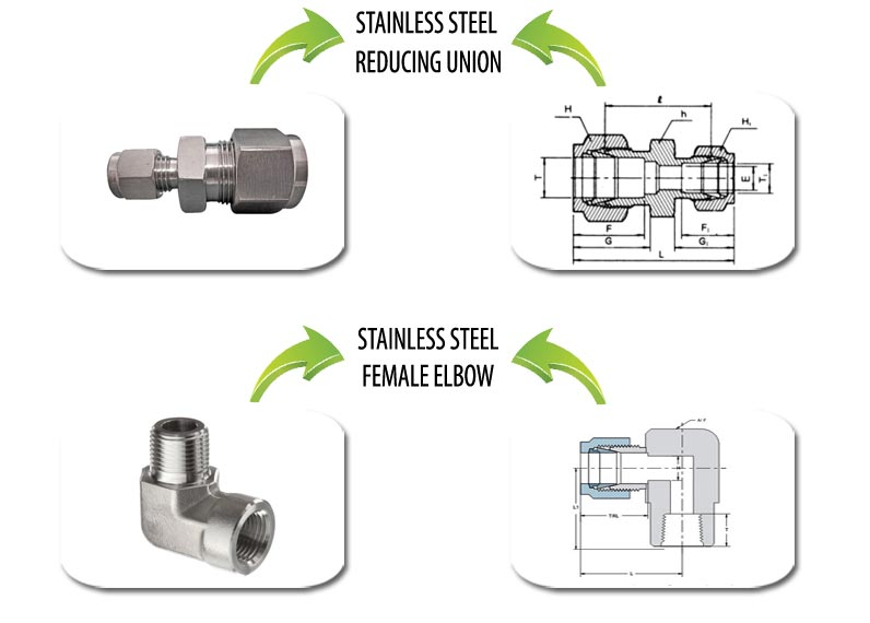 Stainless Steel Compression Fittings Suppliers in India