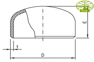 PIPE CAP DIMENSIONS